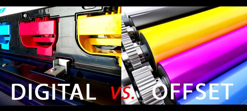 Diferencias entre impresión offset e impresión digital